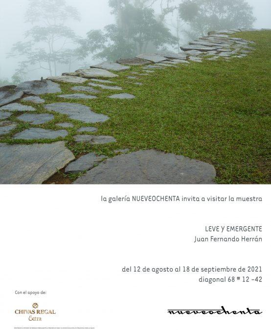 Exposición: Leve y emergente de Juan Fernando Herrán