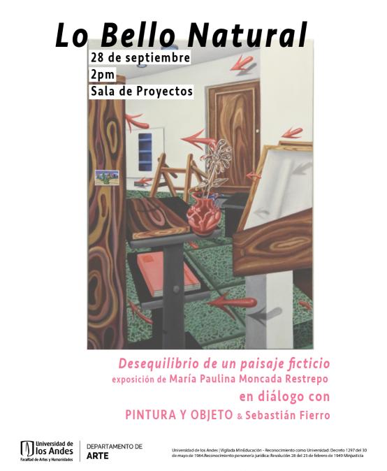 Conversatorio Lo bello natural | Sala de Proyectos