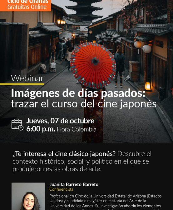 Webinar Imágenes de días pasados: trazar el curso del cine japonés