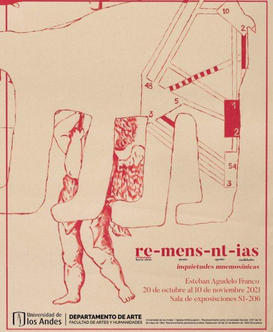 re-mens-nt-ias : inquietudes mnemosínicas / Esteban Agudelo Franco en la Sala de Exposiciones